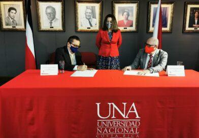 UTN y UNA firman convenio marco de cooperación para desarrollar acciones conjuntas