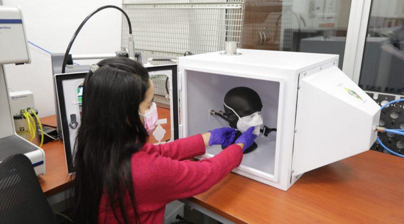 CAM-PUCP cuenta con nuevo analizador de partículas para evaluar mascarillas